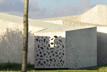 Lille Museum of Modern Art: Ductal® Perforated Panels