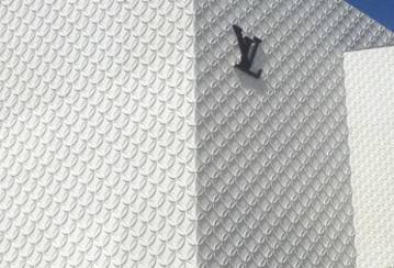 """An artistic Ductal® façade for the new Louis Vuitton """"Maison"""" store in Miami"""