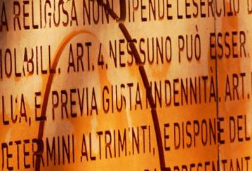 The Constitution Wall in Rome - a historical tribute in Ductal® UHPC