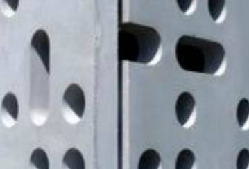 Community Center: Ductal® Perforated Panels