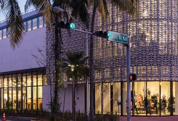 Nike Miami: Innovative Ductal® Brise-Soleil for an Innovative Brand