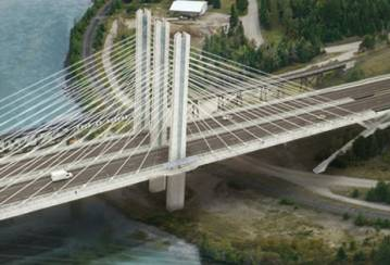 Nipigon River Bridge, Ontario, Canada - Joint Fill