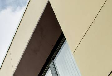 Platform Basket Rainscreen Cladding panels in Italy