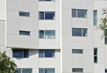 Cladding for Student Residence, Paris, France