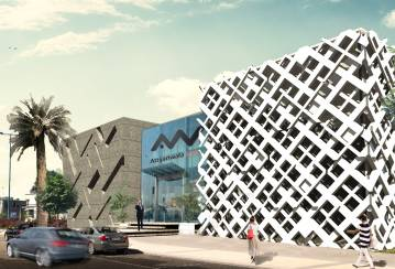 Ductal® 3D facade to be installed on Attijariwafa Bank's regional office – Rabat