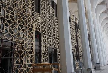 Great Mosque of Algeria: Ductal® the highest performing concrete for Africa's largest mosque
