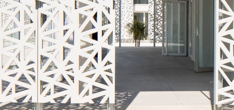 Ductal Architecture Lattice solution Nakara Residential Hotel