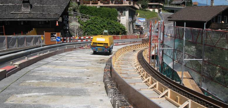 Ductal Engineering Solutions, bridge widening, La Tine Switzerland