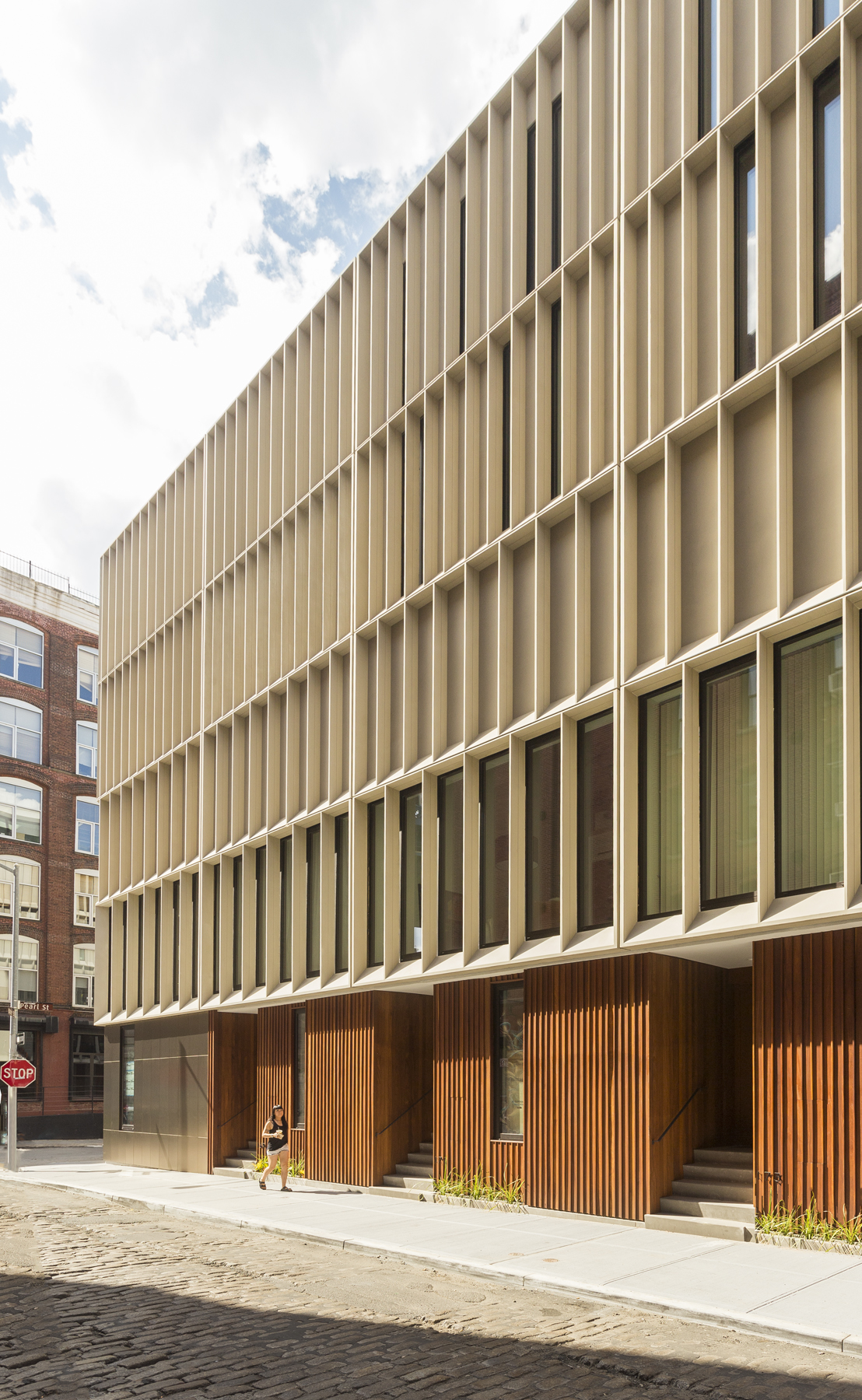 Dumbo Townhouses Louvered Facade Panels