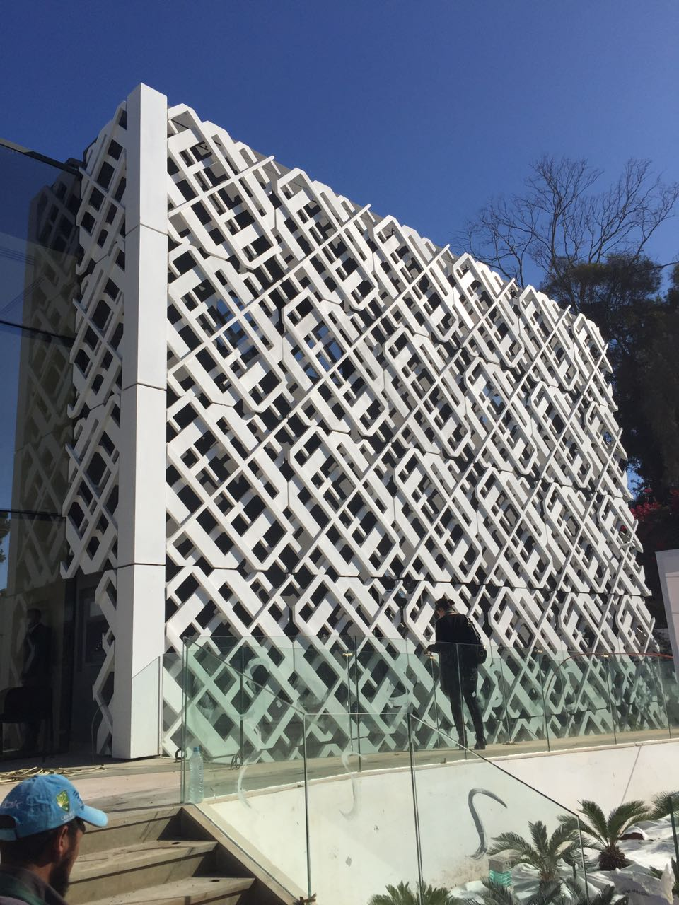Facade: Ductal® 3D Facade To Be Installed On Attijariwafa Bank's